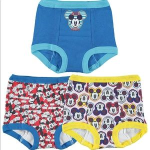 Mickey Mouse toddler boy 3-pack PottyTraining Pant